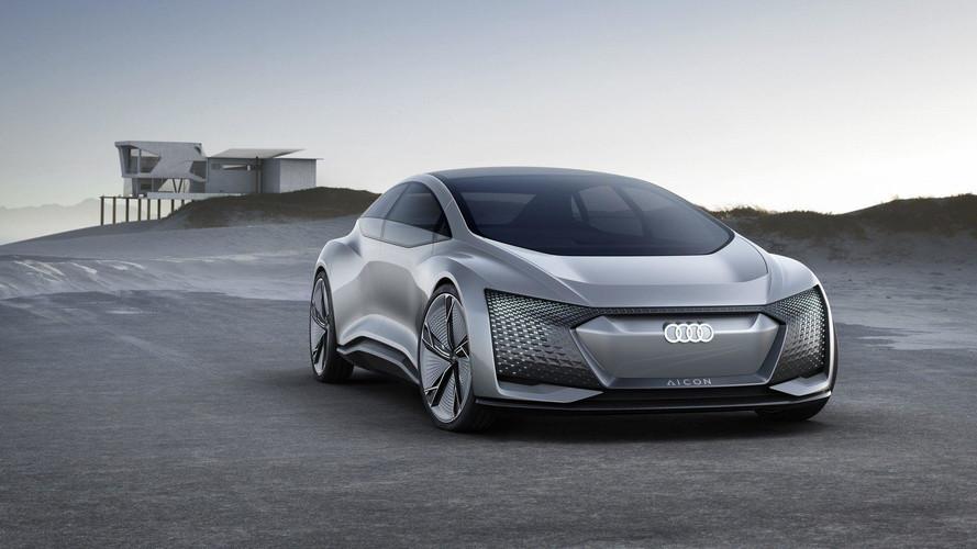 Audi Aicon And Elaine Preview Autonomous Tech Of The Future