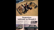 Renault 6 - pagina pubblicitaria