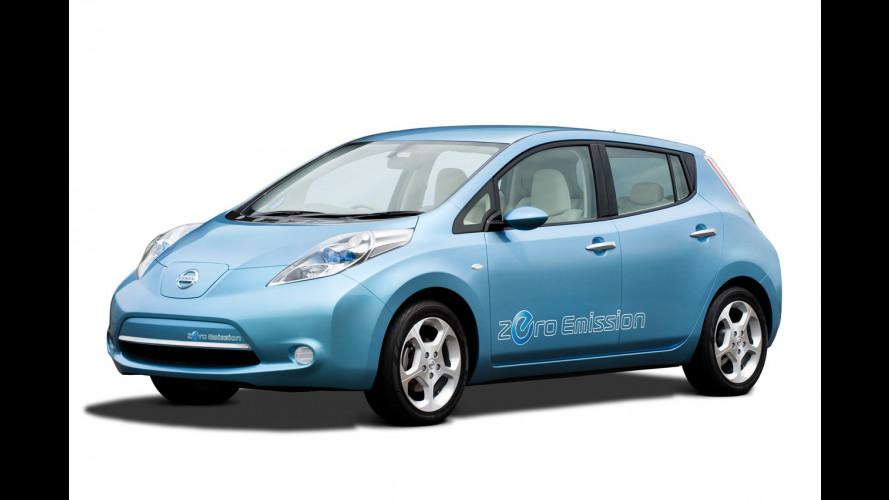 Nissan LEAF: comincia l'era delle emissioni zero