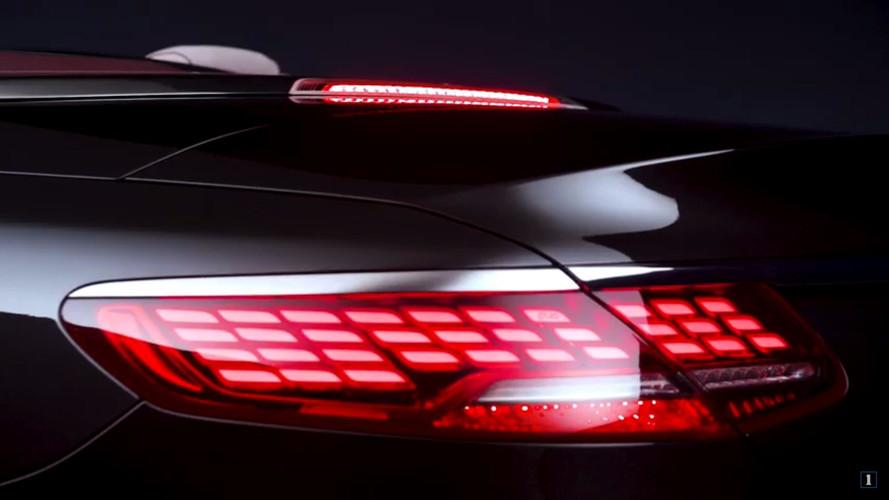 33 OLED-ből építkezik az új S-kabrió hátsó lámpája
