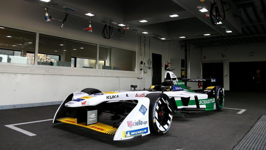 Audi unveils first works Formula E entry