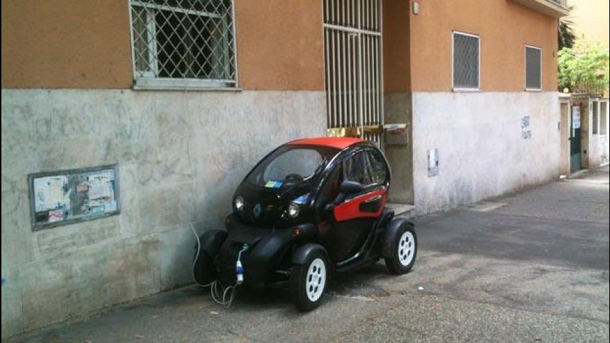 """Auto elettrica, la ricarica fai-da-te """"risolve"""" il problema delle colonnine"""