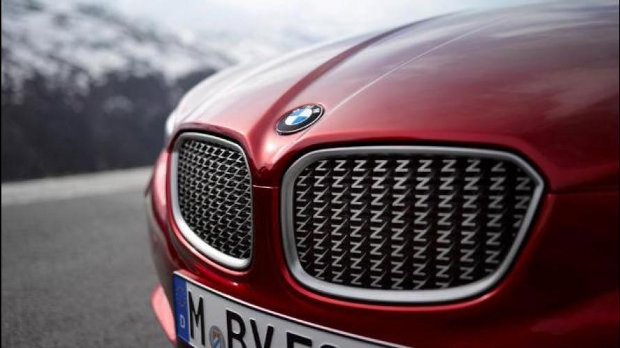 Una BMW Z4 Coupé Zagato si fa strada nella rete
