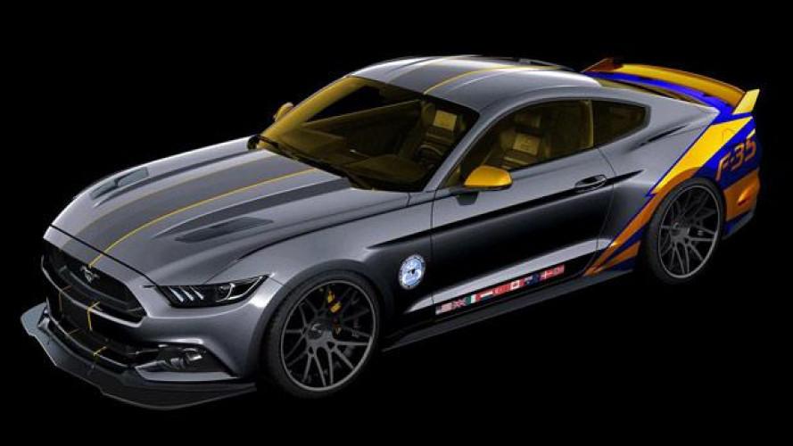 Ford Mustang F-35 Lightning Edition
