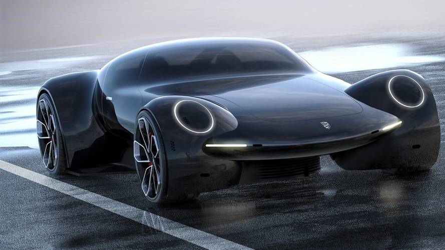 Van, aki szerint ilyen lehet a Porsche elektromos hiperautó tanulmánya