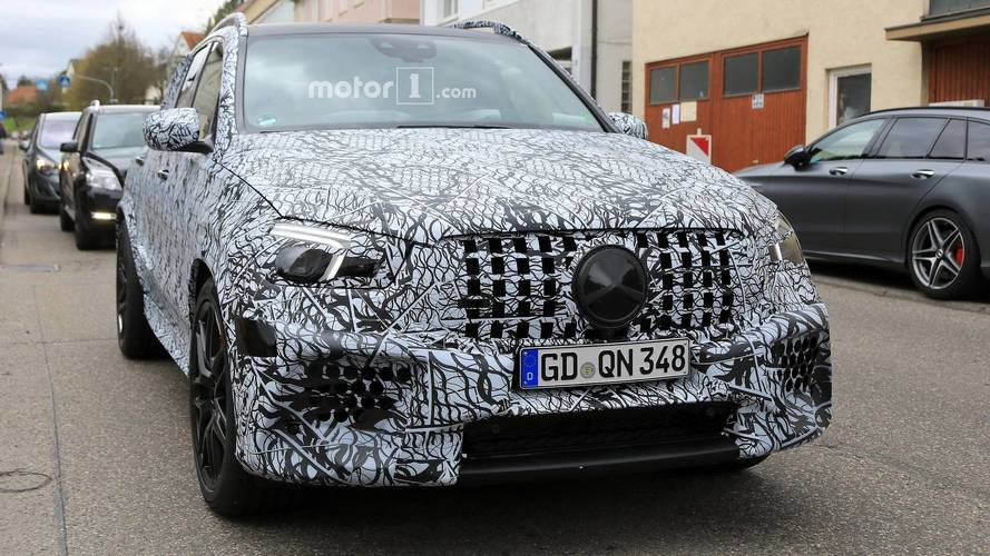 2020 Mercedes-AMG GLE 63 Spotted Riding On 22-Inch Wheels