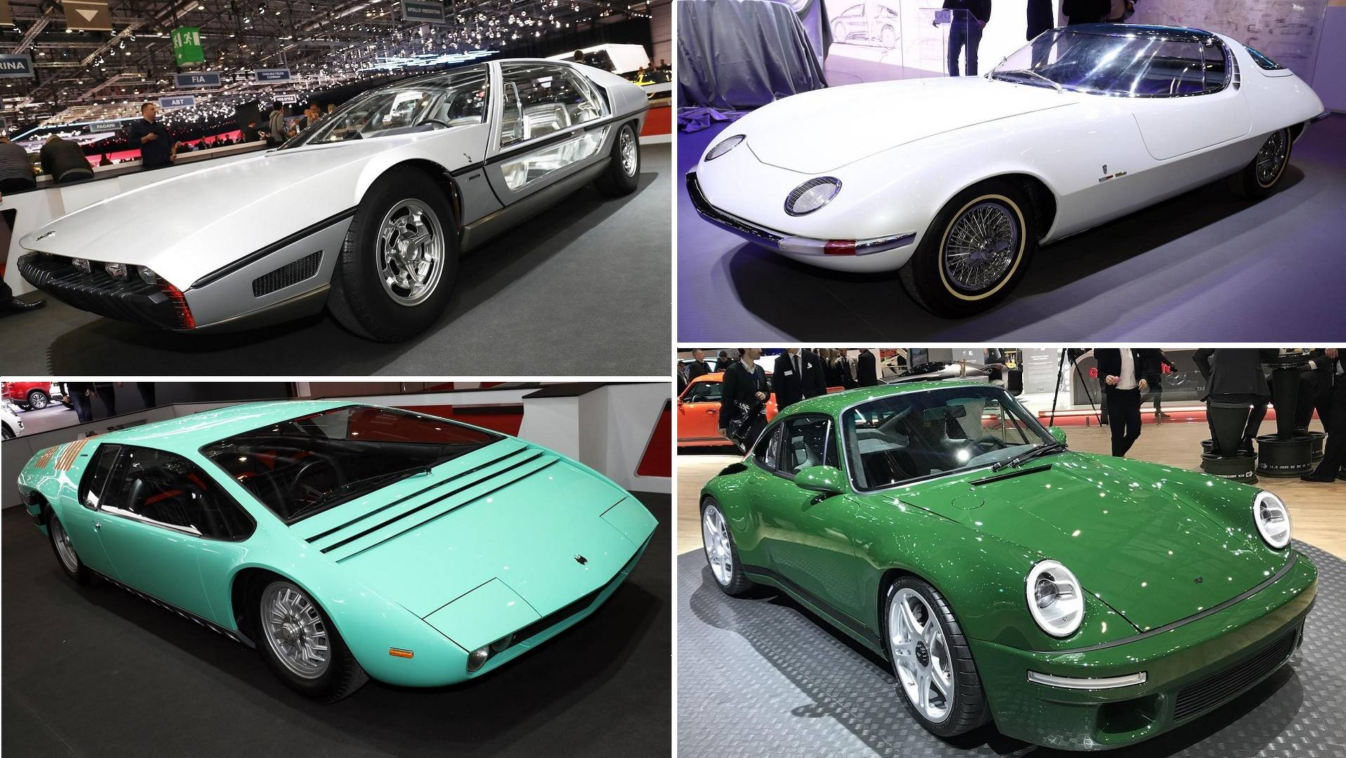 Top 10 Classic Cars At 2018 Geneva Motor Show
