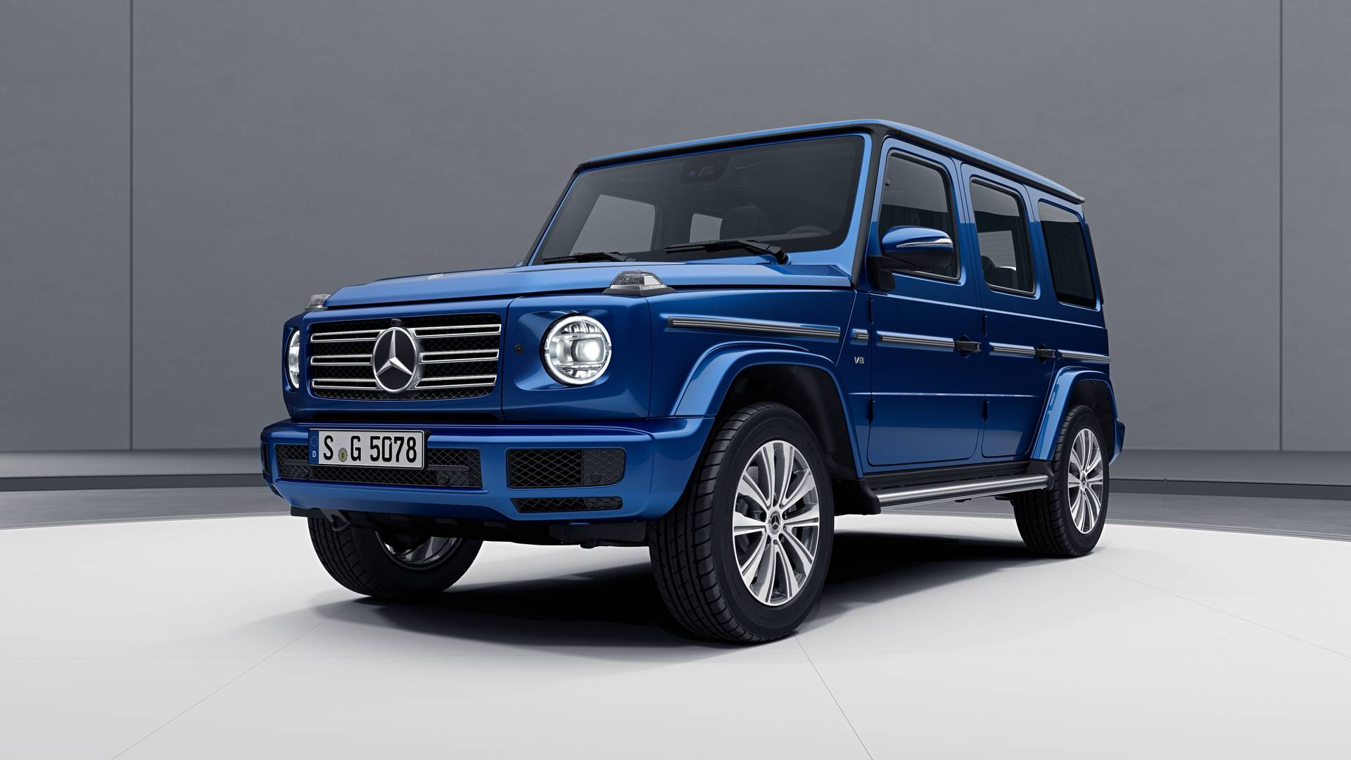 2019 Mercedes G Class Gets Bright With Stainless Steel Package