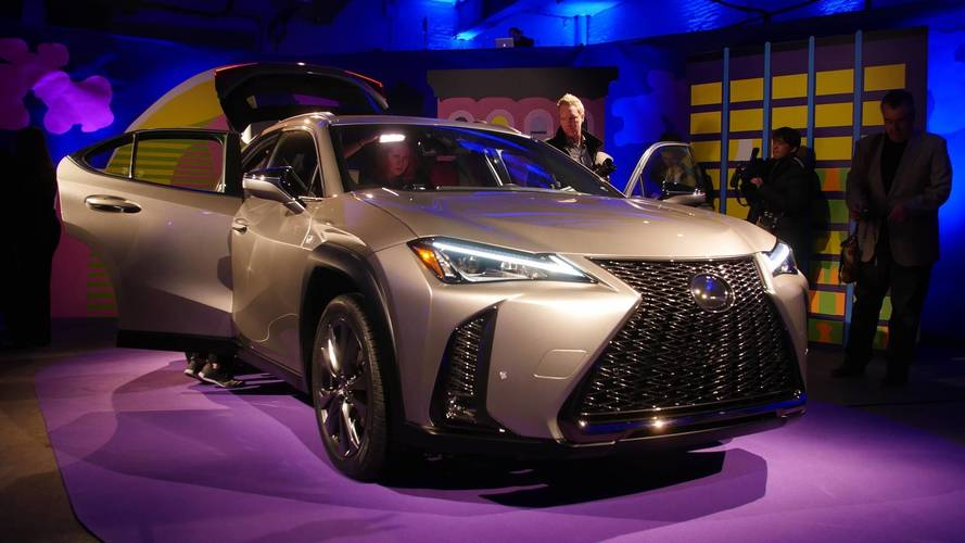 Lexus UX Celebrates U.S. Debut At New York Auto Show