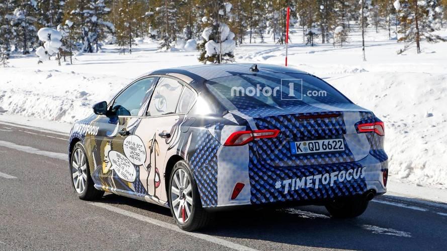 Ford Focus berline Photos espion