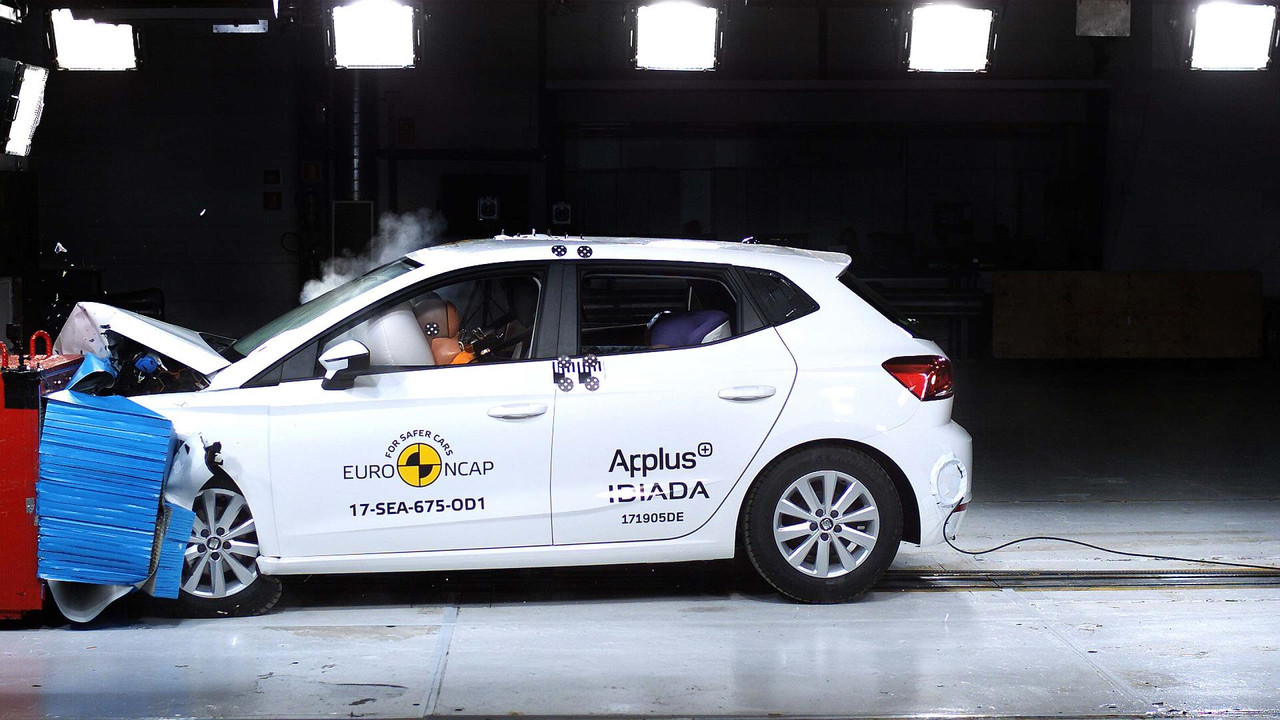 Seat Ibiza 2017 Euro NCAP çarpışma testi