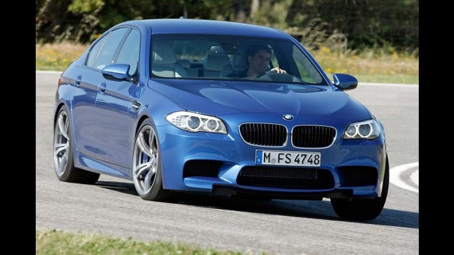 Após vazamento de imagens, Nova BMW M5 é revelada em definitivo