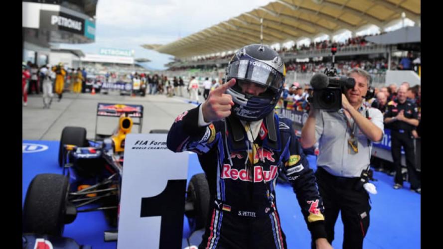 Fórmula 1: Vettel vence o GP da Malásia - Massa assume liderança do mundial de pilotos
