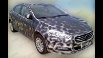 Substituto do Linea? Flagra mostra interior do Fiat Viaggio na China