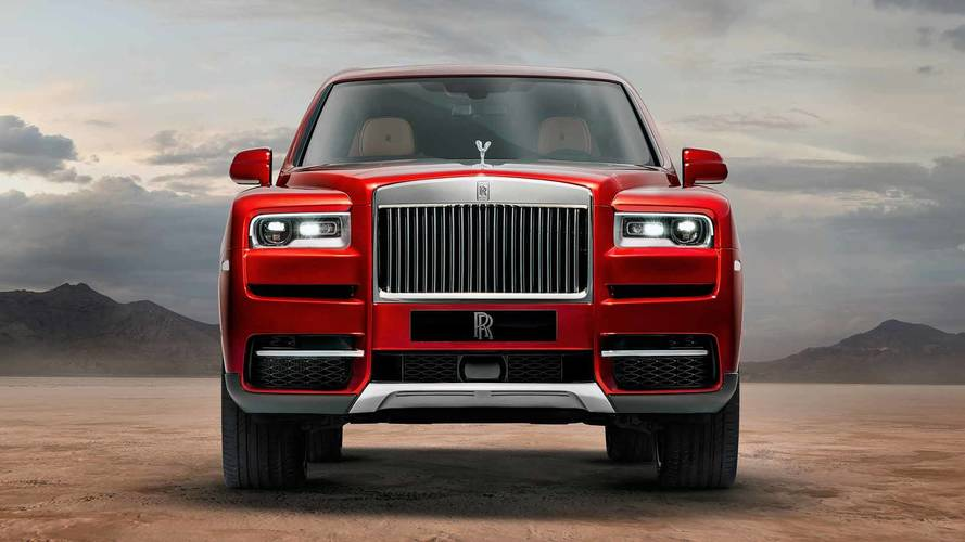 Rolls-Royce Cullinan Gets Video Walk Around
