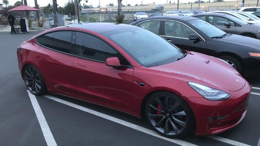 VBOX Clocks Tesla Model 3 Performance At 3.32 Seconds To 60 MPH