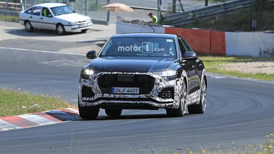 Audi RS Q8 new spy photos