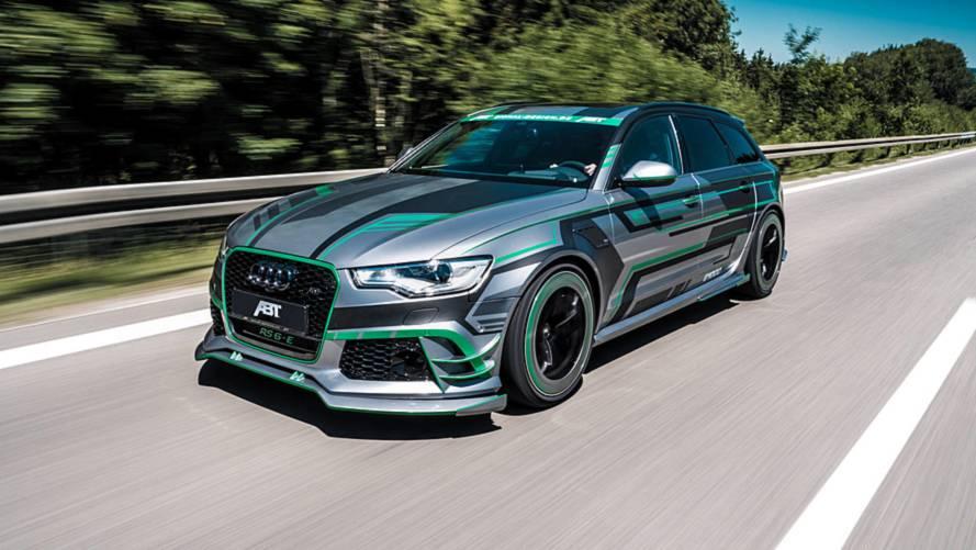 ABT presenta el Audi RS 6-E, con 1.000 CV de puro músculo