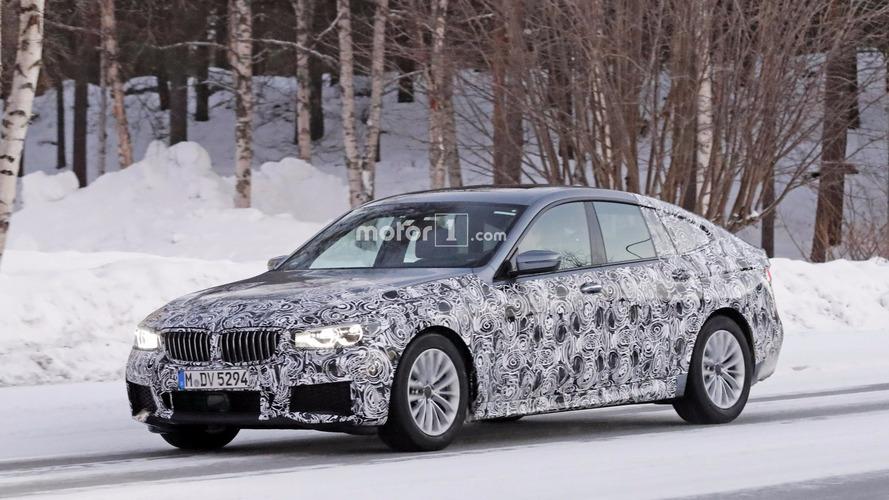 La future BMW Série 6 GT en photos espion