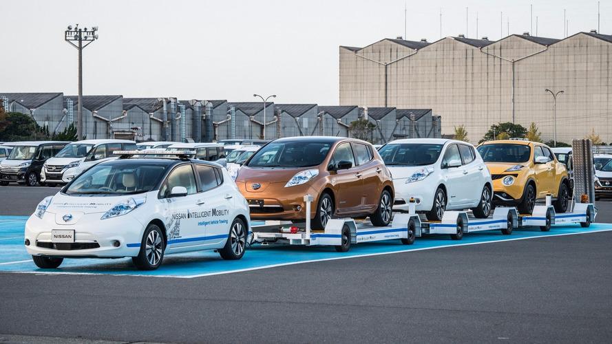 Nissan Leaf otonom çekici oldu