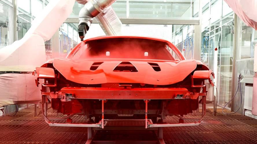 Ferrari, con la nuova vernice splendono di più