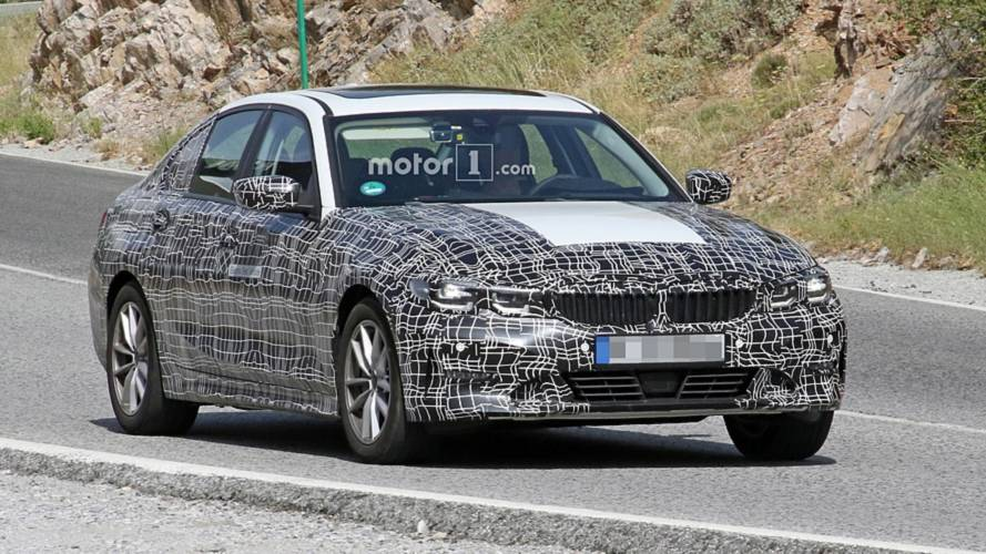 Why does this BMW 3 Series electric prototype have fake exhaust?