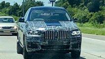 2020 BMW X6 spy photos from Motor1.com reader