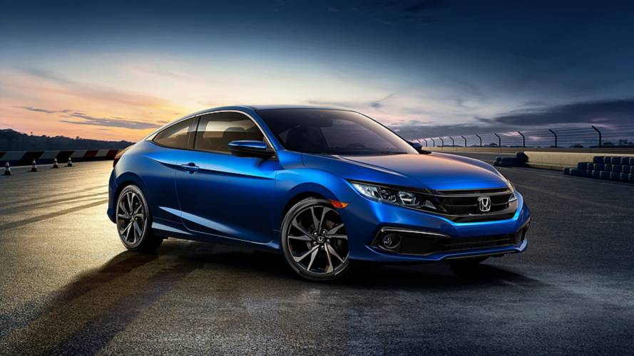 News Just now 2019 Honda Civic facelift unveiled in the US