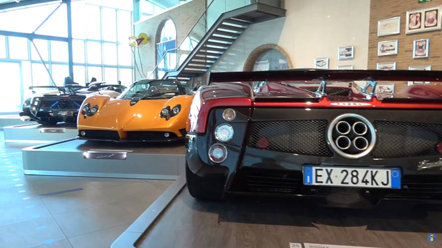 Pagani HQ Tour Vid Gets Up-Close With a $7M Cinque Roadster