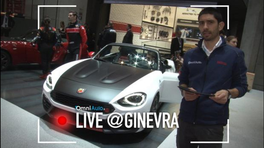 Abarth 124 spider e rally, inno all'Italia [VIDEO]