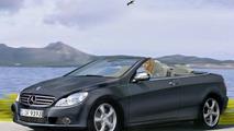 2008 Mercedes CLK Cabrio illustration