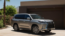 Lexus finally unveils facelifted LX 570 at Pebble Beach [video]