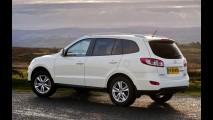 Reestilizado: Hyundai Santa Fé 2010 chega ao Chile com preço equivalente a R$ 47 mil