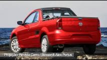Nova Saveiro ou Arena? Revista faz projeção da nova pick-up da Volkswagen