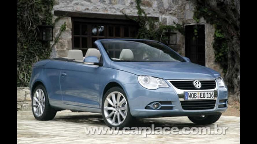 Volkswagen Coupé-Cabriolet Eos chega importado no 2º semestre ao Brasil