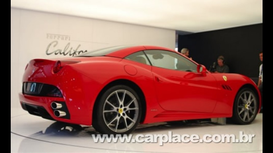 Ferrari California: Toda produção do conversível já está vendida até 2010