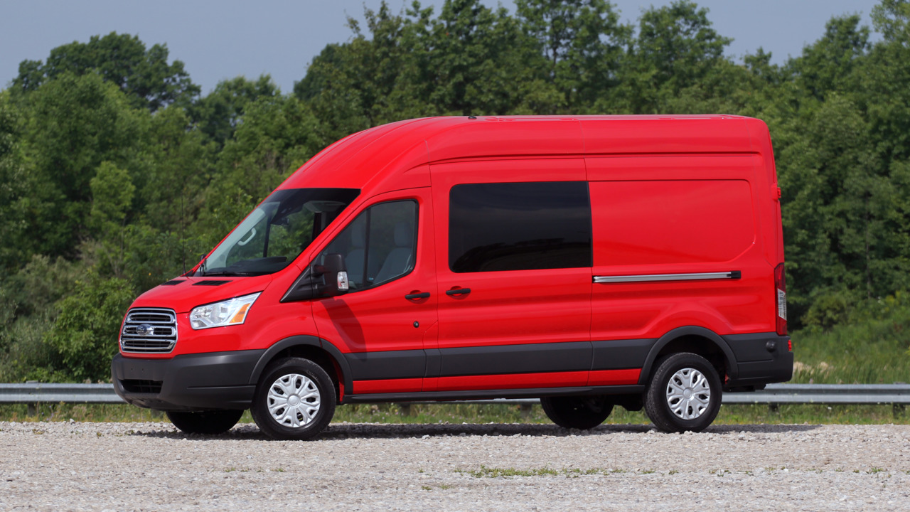 Review 2016 Ford Transit