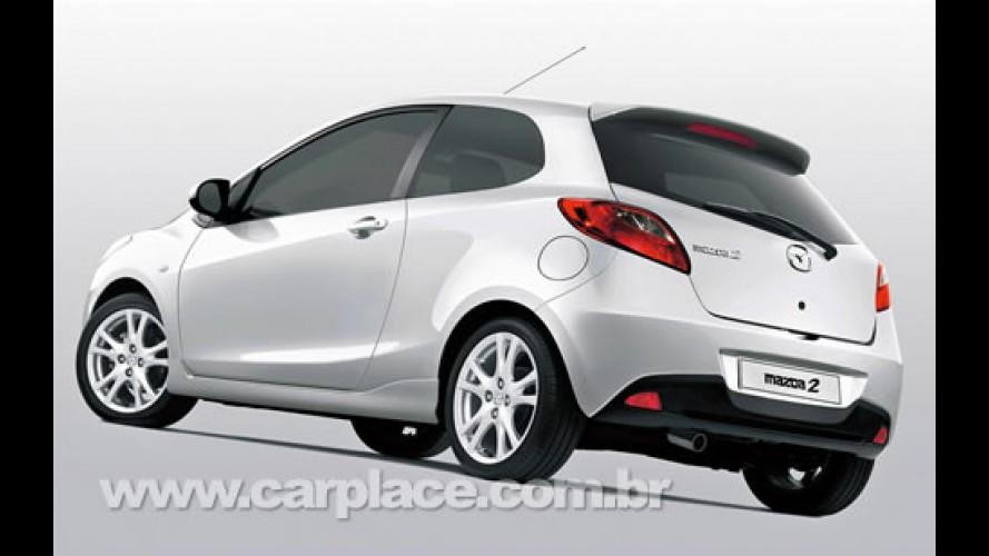 Novo Mazda2 de 3 portas será apresentado no Salão de Genebra