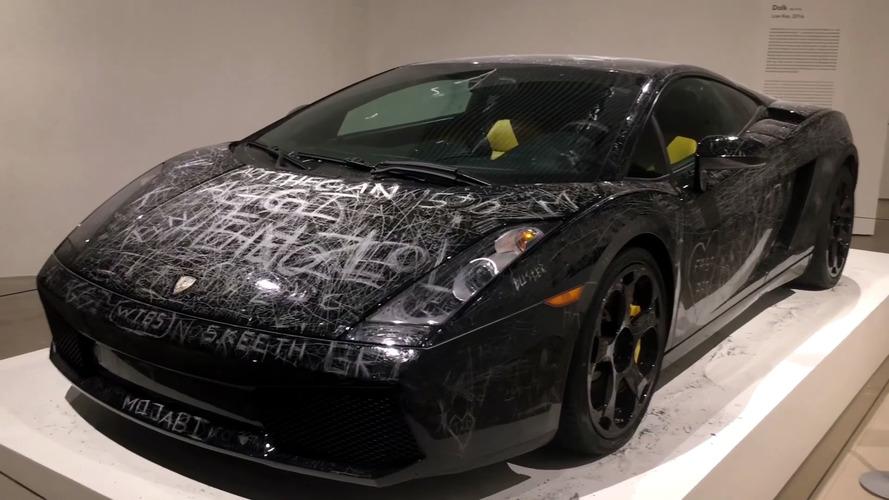 Művészet lenne szétbarmolni egy Lamborghini Gallardo fényezését?