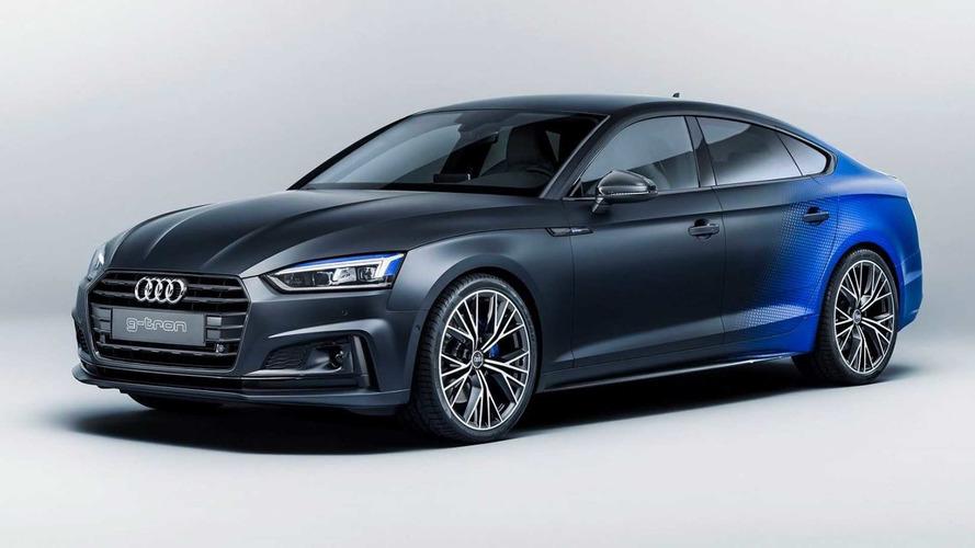 El llamativo Audi A5 Sportback g-tron para Wörthersee 2017