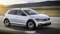 VW Polo R és Polo GTI Kabrió Renderképek