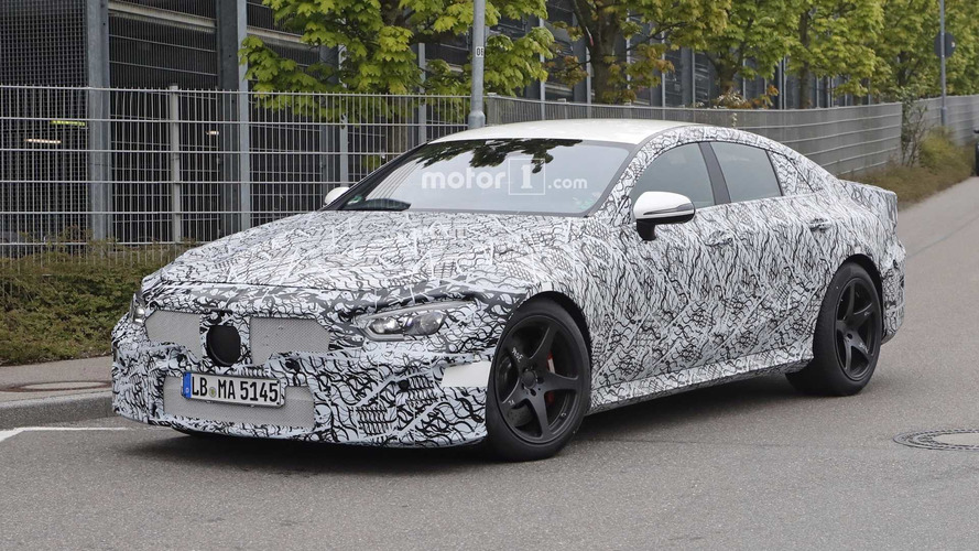 Four-Door Mercedes-AMG GT Sedan Spied Up Close