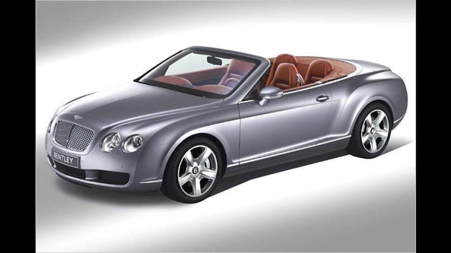 Bentley Cabrio: Continental GTC ist der Dritte im Bunde