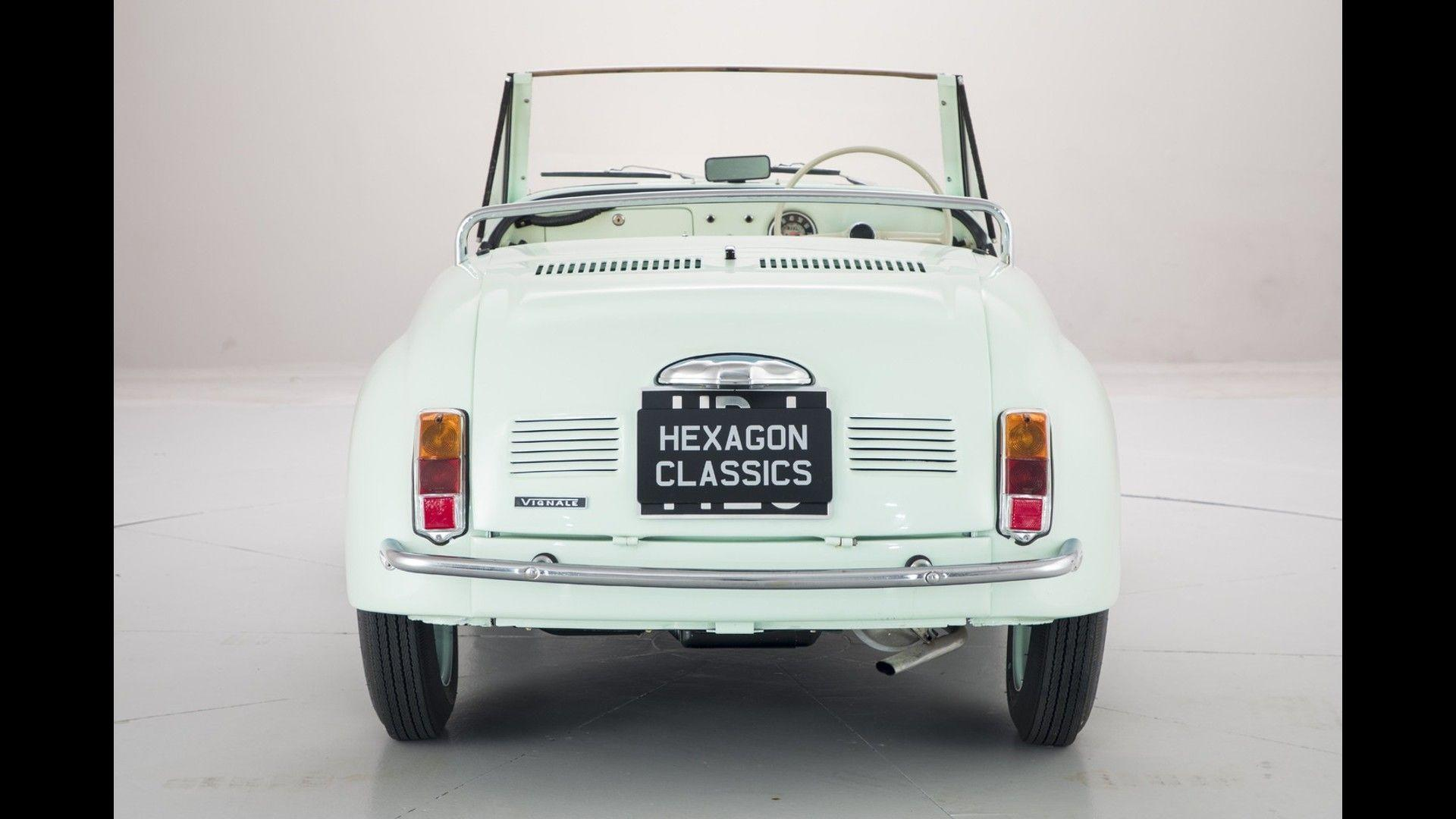 Fiat 500 Gamine By Vignale Is An Adorable Two-Cylinder Cabrio