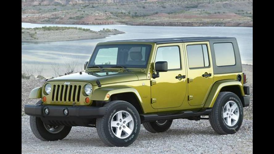Der neue Jeep Wrangler Unlimited: Länge läuft