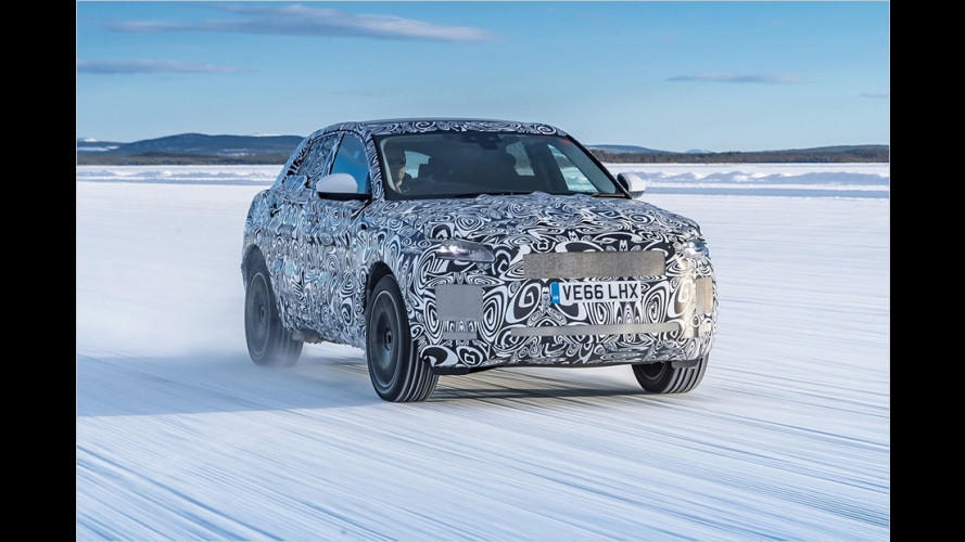 Jaguar E-Pace in den Startlöchern