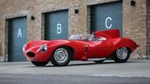 1956 Jaguar D-Type açık arttırma