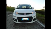 Fiat Panda a metano, test di consumo reale Roma-Forlì 008