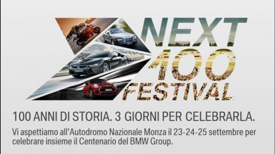 BMW Next 100 Festival, le informazioni sulla festa