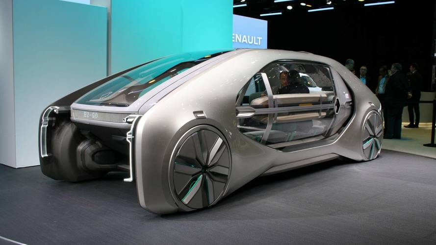 Renault EZ-GO concept at the 2018 Geneva motor show